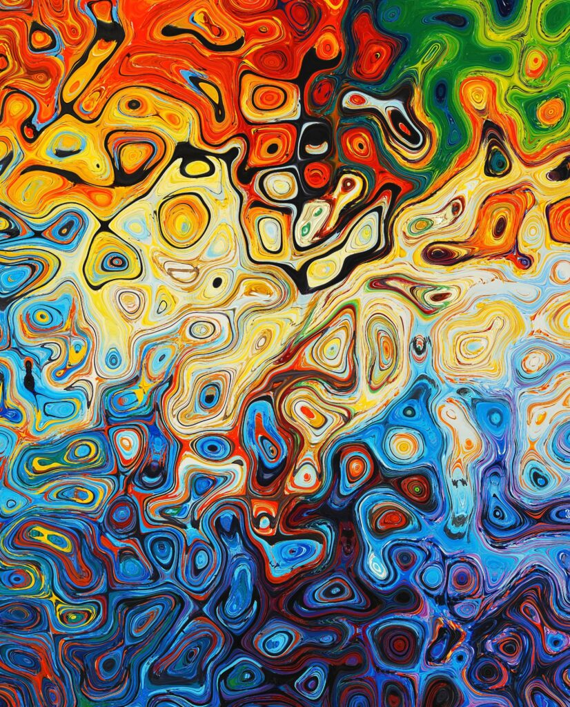 The oil painting art for style transfer